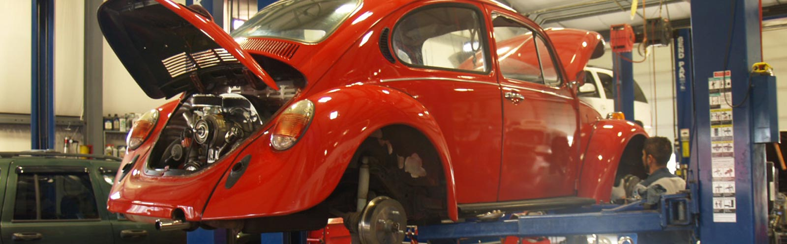 Classic Car being repaired at Specialty Automotive Service & Repair in Bend, OR